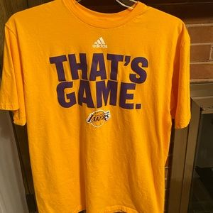 Adidas lakers graphic tee